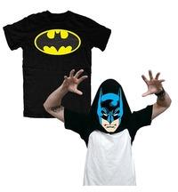 DC Comics Batman Flip Up T-Shirt (X-Large)