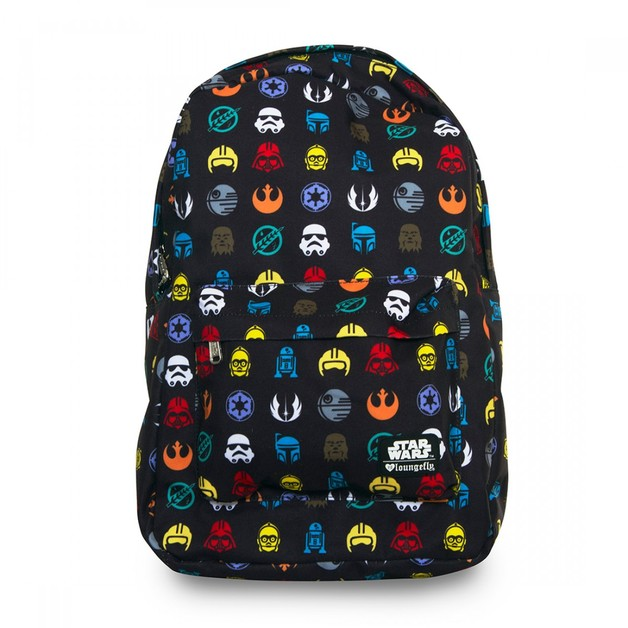 Loungefly Star Wars Multi Symbol Print Backpack