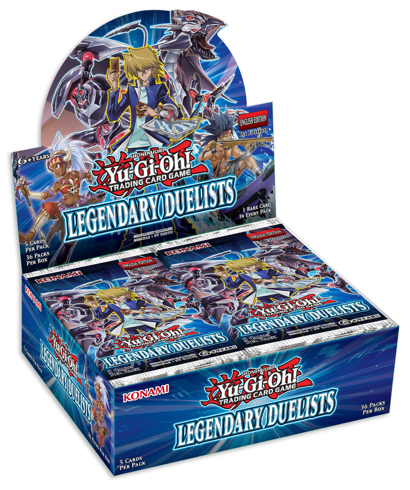 Yu-Gi-Oh! Legendary Duelists Booster Box image