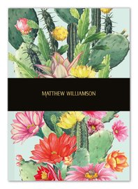 Museums and Galleries: Cactus Flowers - Deluxe Notebook image