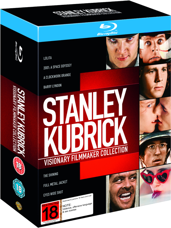 Stanley Kubrick Visionary Filmmaker Collection on Blu-ray