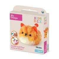 My Design: Fluffables Craft Kit - Pumpkin