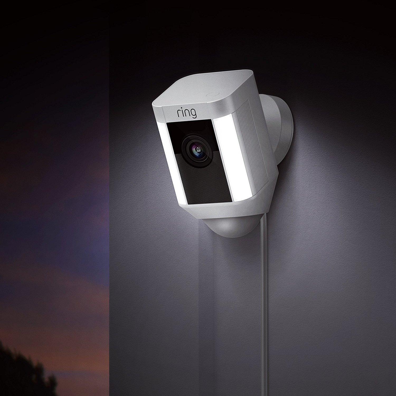 Ring: Spotlight Wired Camera - White image