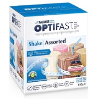 Optifast Assorted Shakes (10 x 54g) image