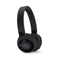 JBL T600 Noise-Cancelling Bluetooth Headphones - Black