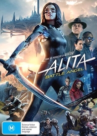 Alita: Battle Angel on DVD