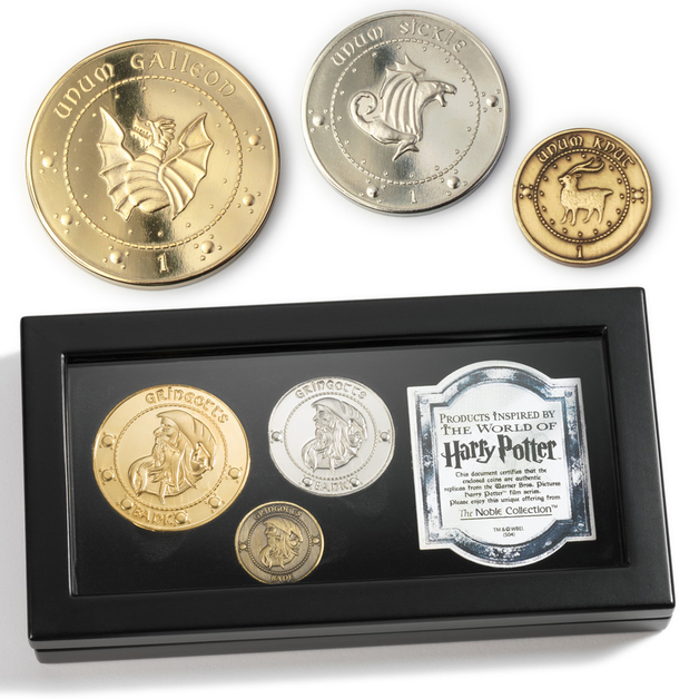 Harry Potter: Premium Replica - Gringotts Bank Coin Collection