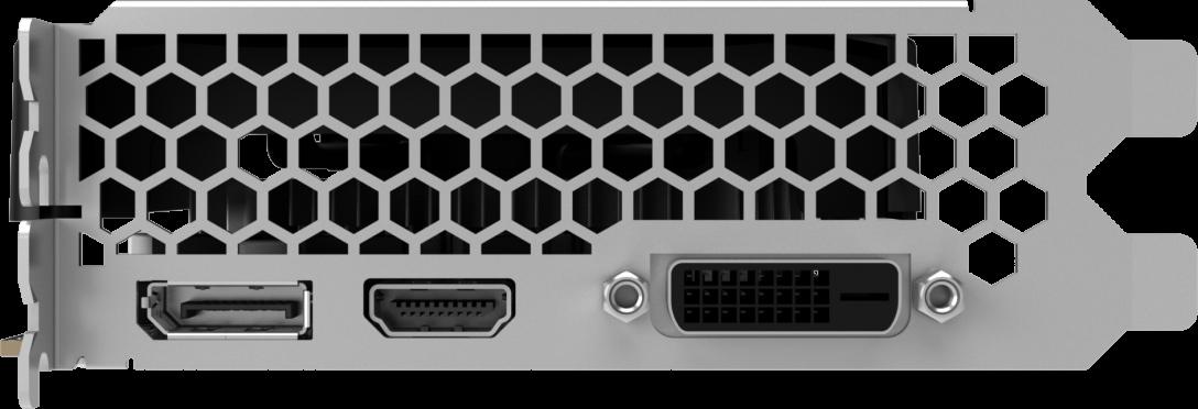 NVIDIA GeForce GTX 1050 Ti StormX 4GB Palit GPU image