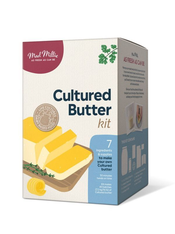 Mad Millie - Cultured Butter Kit