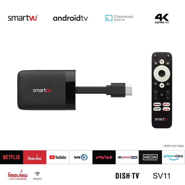 DishTV SmartVU 4K UHD TV Dongle
