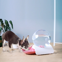 2.8L Bubble Cat Drinking Fountain - Large (Pink)