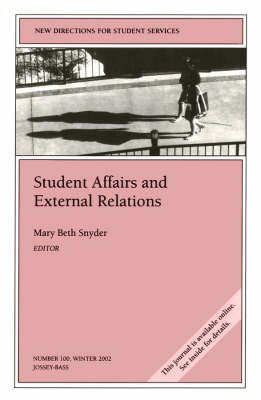 Student Affairs and External Relations