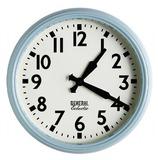 General Eclectic Retro School Clock (Blue)