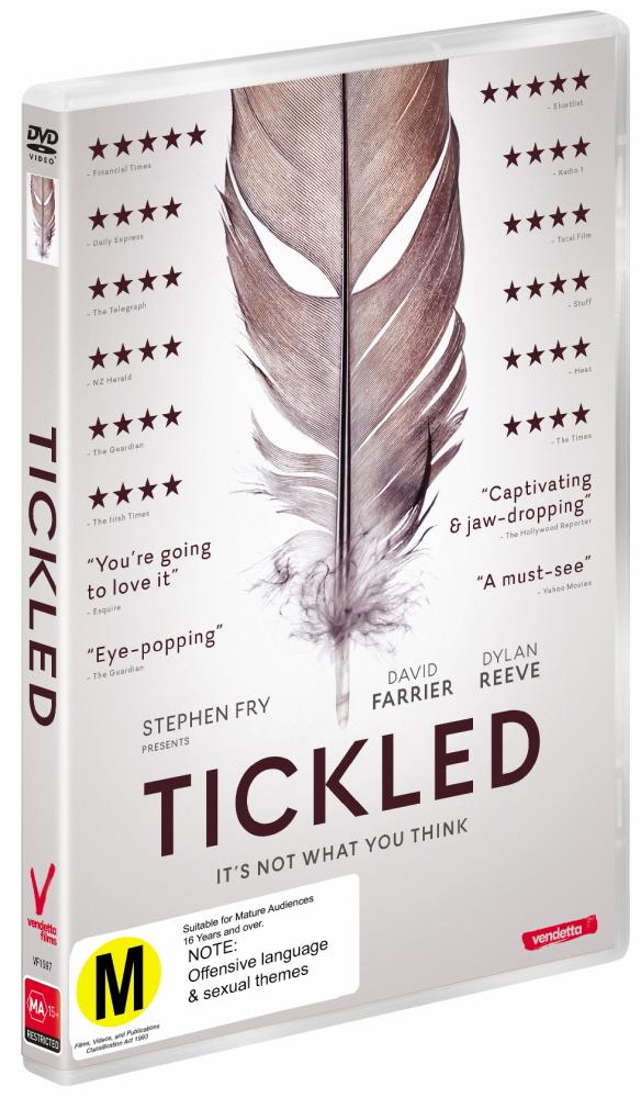 Tickled on DVD image