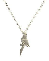 Short Story: Silver Parrot - Necklace