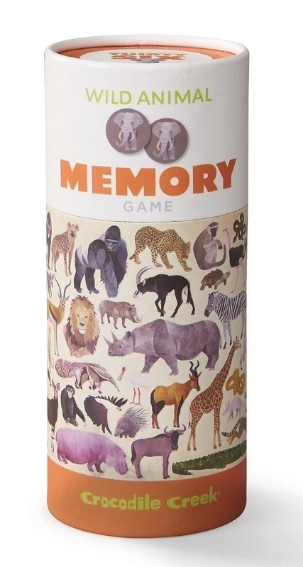 Image of: Card Game Crocodile Creek Memory Game Wild Animals Toy At Mighty Ape Australia Mighty Ape Crocodile Creek Memory Game Wild Animals Toy At Mighty Ape