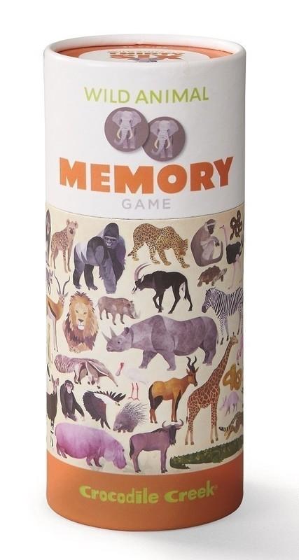 Crocodile Creek: Memory Game - Wild Animals