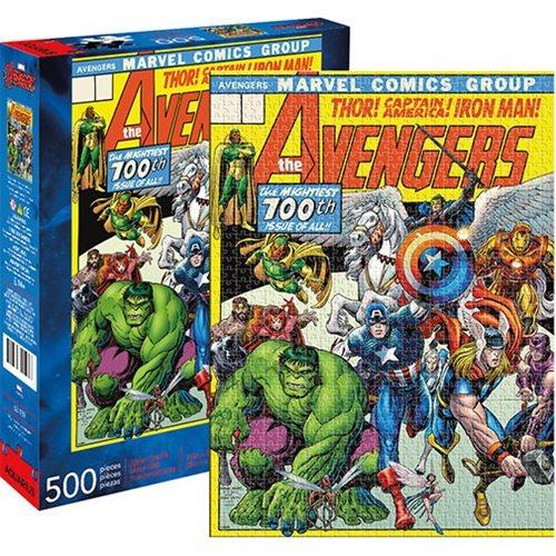 Marvel: 500 Piece Puzzle - Avengers Cover