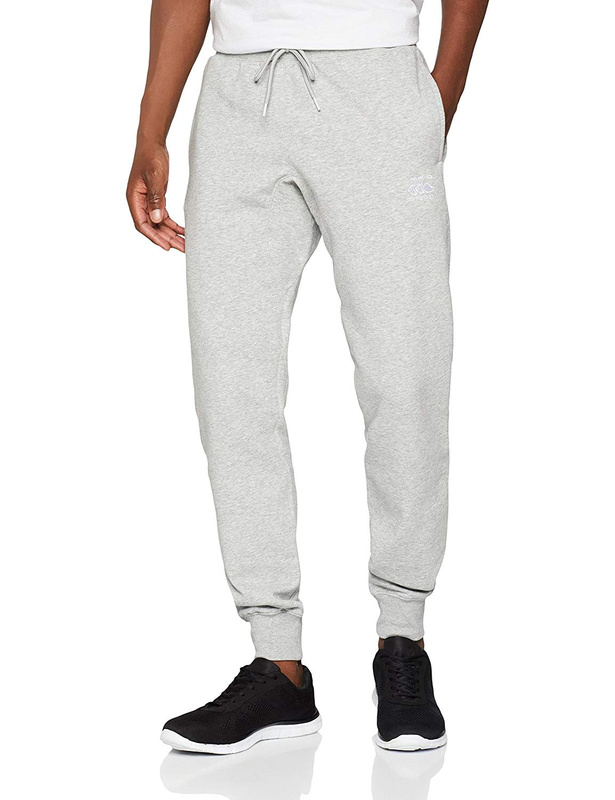"Canterbury: Mens Fundamental - Tapered Fleece Cuff Pant 32"" - Classic Marl (Large)"