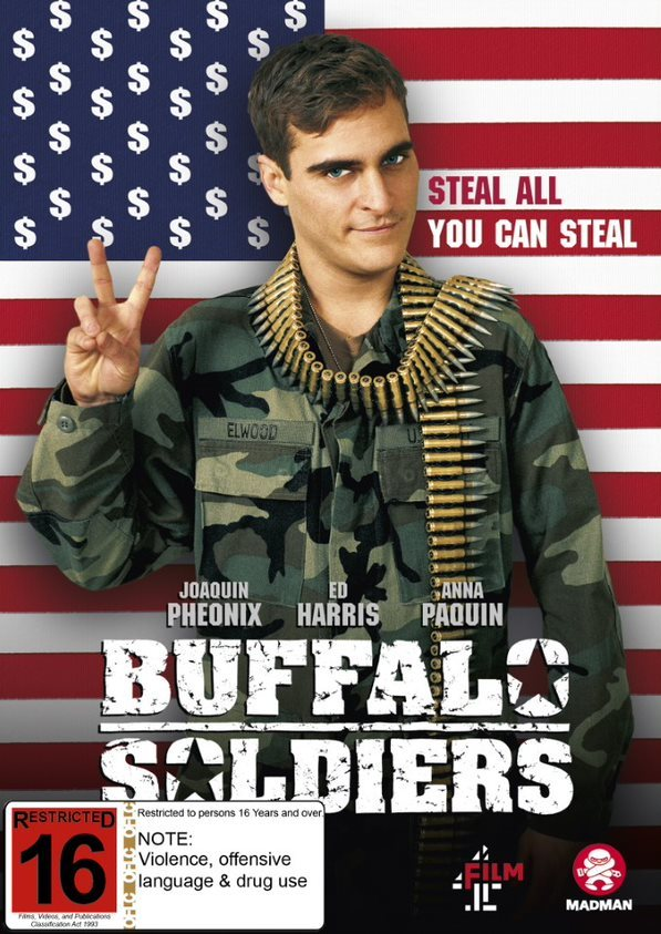 Buffalo Soldiers on DVD image