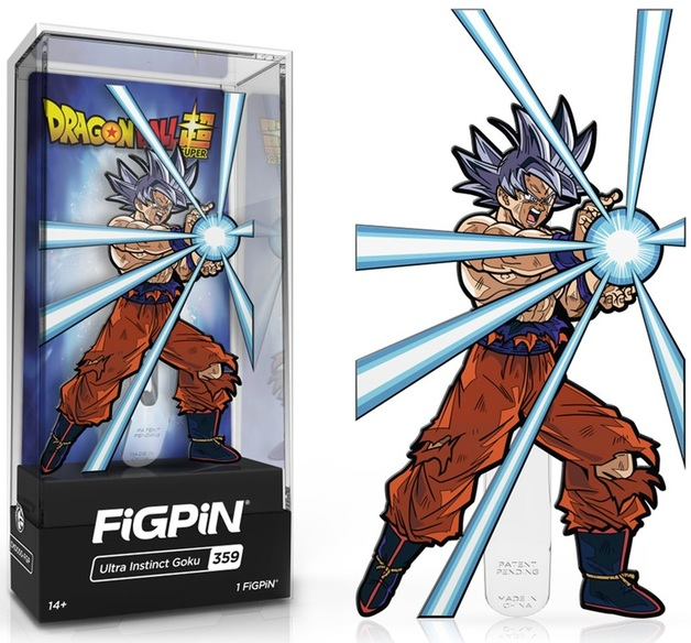 Dragon Ball Z: Ultra Instinct Goku V2 (#359) - Collectors FiGPiN