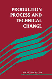 Production Process and Technical Change by Mario Morroni