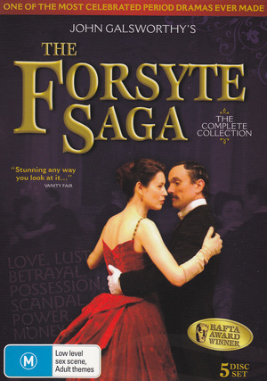 Forsyte Saga, The (2002) - The Complete Collection (5 Disc Set) on DVD image