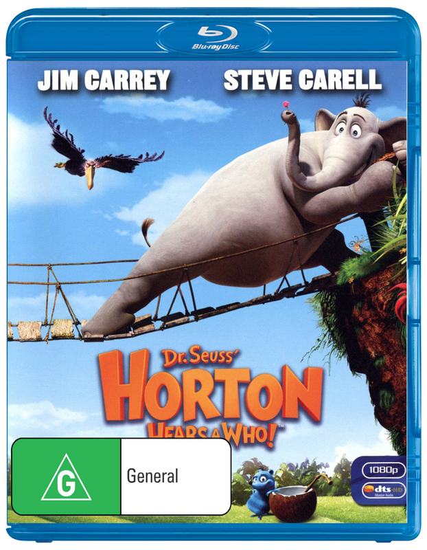 Dr Seuss' Horton Hears A Who! on Blu-ray