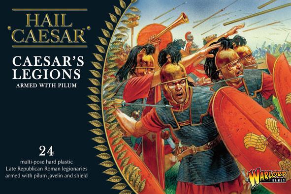 Hail Caesar: Caesarian Romans with Pilum