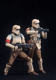 Star Wars Rogue One Scarif Stormtrooper ArtFX+ Statue (2-Pack)