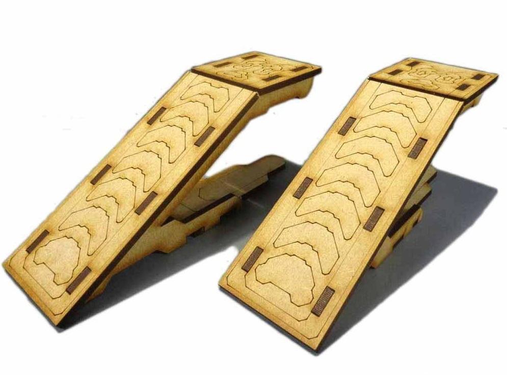 TTCombat: Tabletop Scenics - Forebearer Ramps image