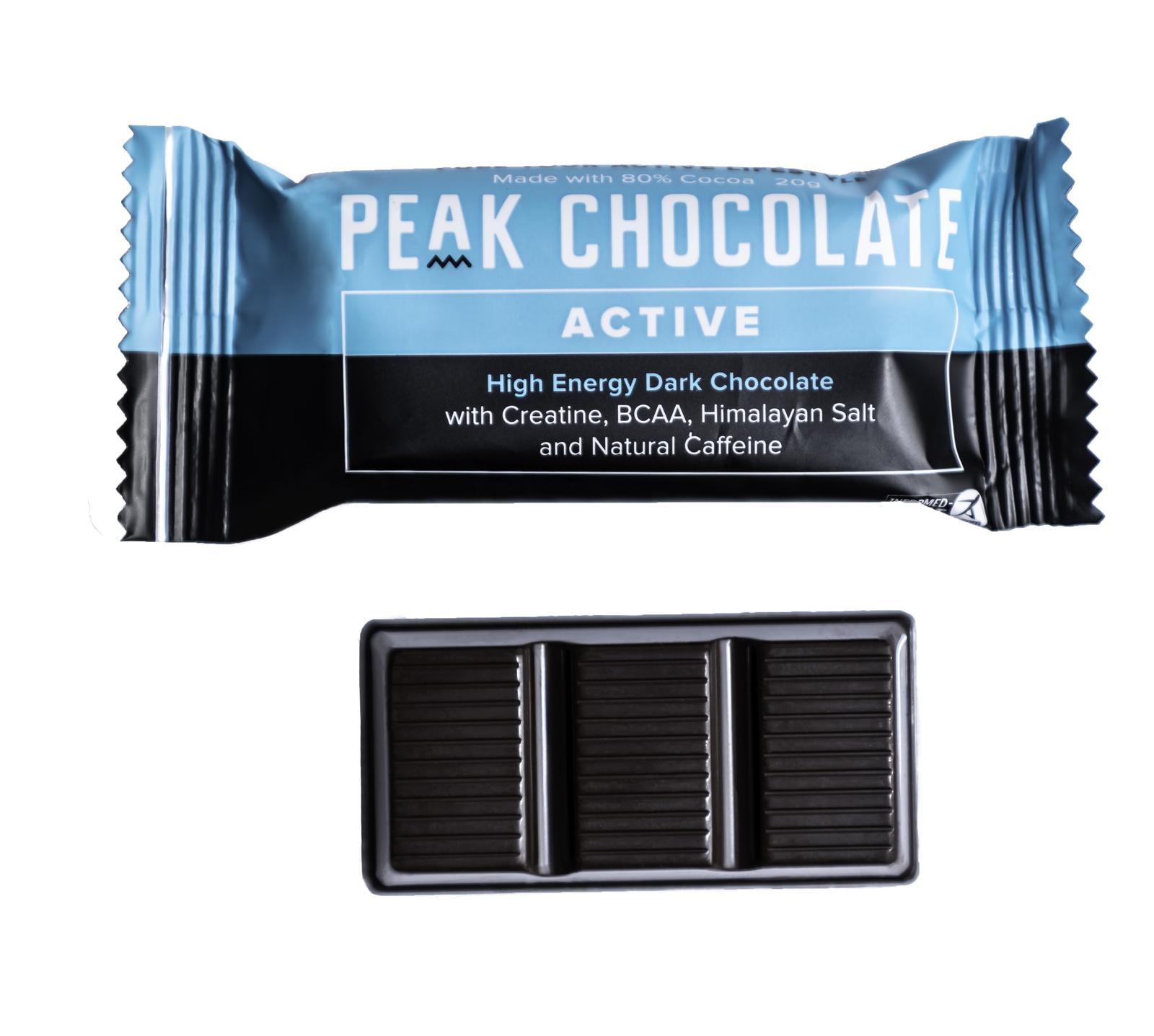 Peak High Energy & Endurance Chocolate (3 x 20g) image