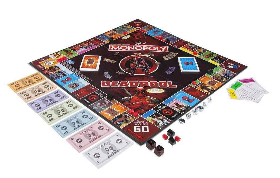 Marvel Deadpool Edition Monopoly Game image