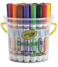 Crayola: Classic Washable Marker Deskpack (32-Piece/ 8 Colours)