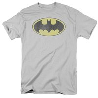 DC Comics: Retro Batman Logo - Distressed T-Shirt (Large)