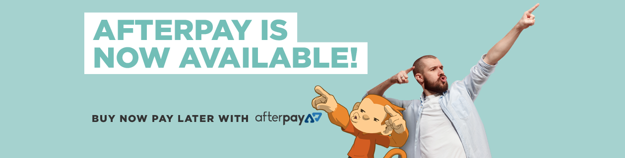 Afterpay is now available!