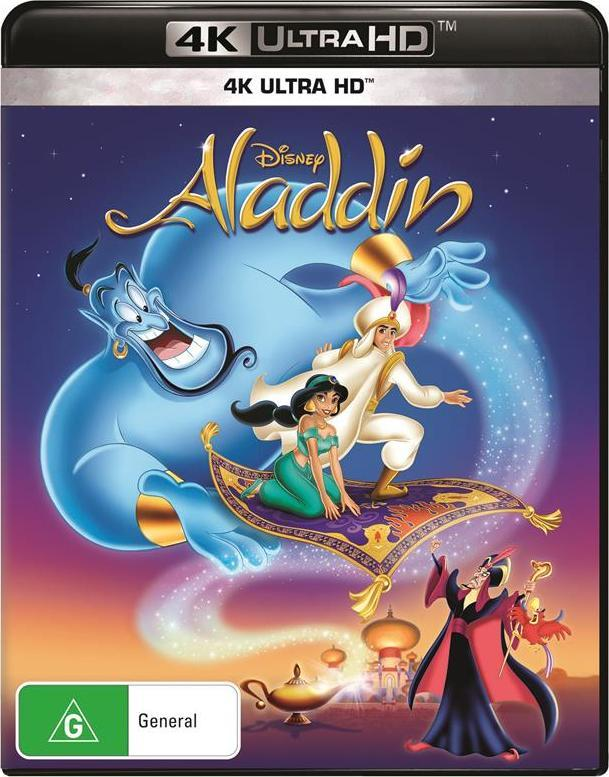 Aladdin (1992) (4K UHD) on UHD Blu-ray