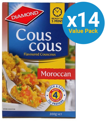 Diamond: Couscous Moroccan 200g (14 Pack)