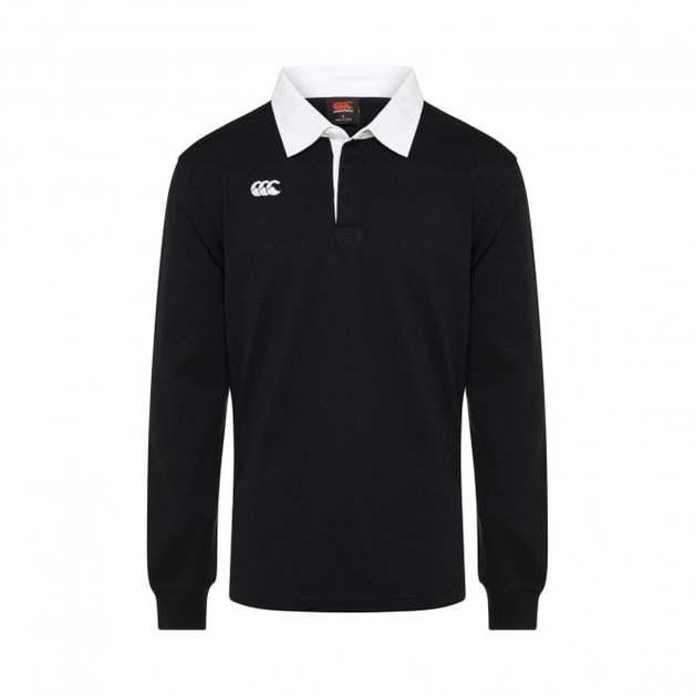 Canterbury: Mens Classics - Longsleeve Retro Jersey - Black (XXX-Large)