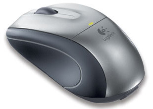 Logitech V320 Cordless Optical Mouse for  Notebooks