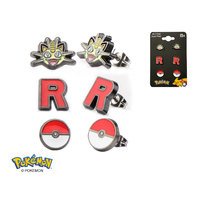 Pokemon Team Rocket Earring Set
