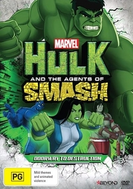 Hulk And The Agents Of S.M.A.S.H: Doorway to Destruction on DVD