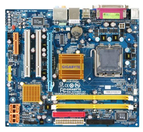 GIGABYTE G31MX-S2 MATX VGA LGA775 image