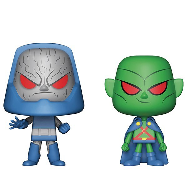 Martian Manhunter + Darkseid - Vynl. Figure 2-Pack