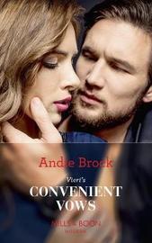 Vieri's Convenient Vows by Andie Brock image