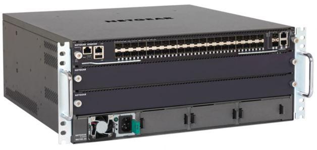NETGEAR M6100-44GF3 Chassis Switch Starter Kit (XCM8903, APS1000W, AFT603, XCM8944F)