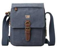 Troop London: Classic Shoulder Bag - Blue