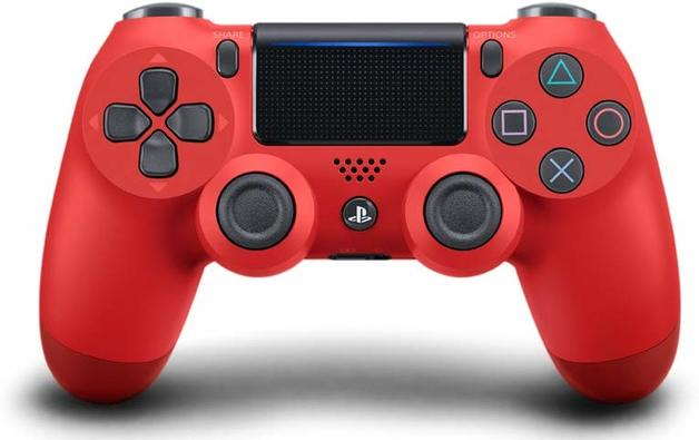 PlayStation 4 DualShock 4 v2 Wireless Controller - Magma Red for PS4