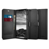 Spigen: Premium Wallet Case for iPhone XS Max - Black