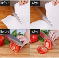 3-Step Knife Sharpener - Black